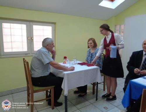 Завршни испит – кувари и конобари